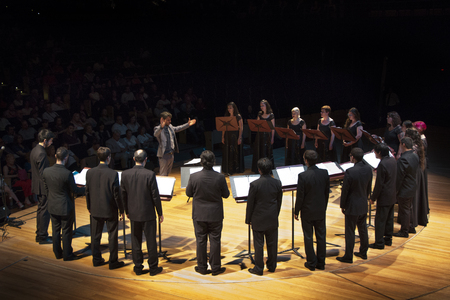 Buenos Aires,Argentina - 01 / December / 2016. Symphonic Room at the CCK. CABA.