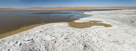 View of Laguna Kollpa Kkota (Collpa Laguna), South LÃpez Province, Potosà Department, Bolivia