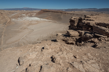 Quebrada Kari (Piedra del Coyote) - San Pedro de Atacama, Chile - South America Reklamní fotografie