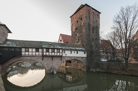 Home of the citys official executioner (Henkerhaus) of the city of Nuremberg, Germany Publikacyjne