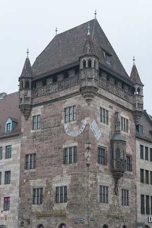 Nassauer Home in the city of Nuremberg - Germany