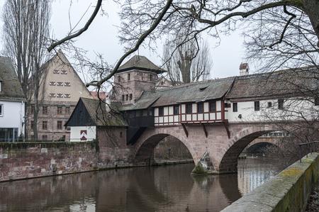 Home of the citys official executioner (Henkerhaus) of the city of Nuremberg, Germany Zdjęcie Seryjne