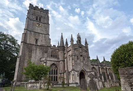 St Peter and St Pauls Church in Northleach town, Gloucestershire, Cotswolds, England - United Kingdom
