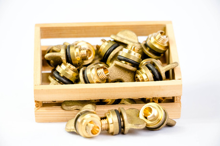 pinchbeck: brass valves