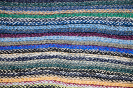 woven: colourful woven cotton for background