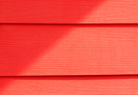 red blank planks with shadow for background