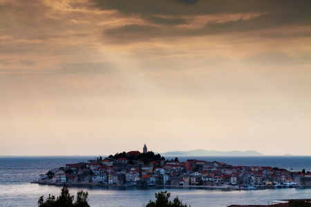City of Primosten, Croatia Stock Photo