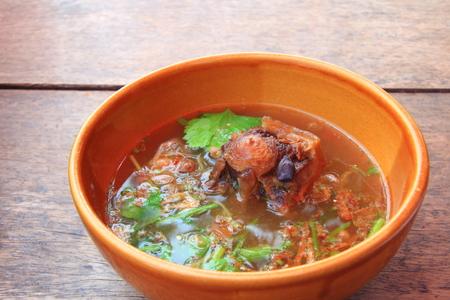 ox: ox tail soup