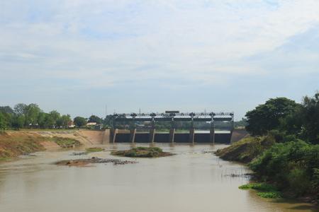 spillway: Phra Ram VI Dam, Tha Luang, Tharua, Ayutthaya