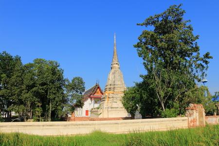 bang pa in: stupa and temple at Wat prod sat, Bang pa In, Ayutthaya