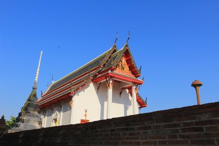 bang pa in: stupa and temple at Wat prod sat, Bang pa In, Ayutthay