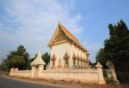 bang pa in: Temple at Wat Ban Wa, Bang Pa In, Ayutthaya Stock Photo