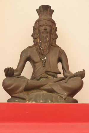 Rishi brass statue with the four face photo