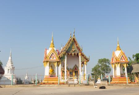 bang pa in: Temple at Wat Sutthi Ruchiraram, Ban Krot, Bang Pa in, Ayutthaya Stock Photo