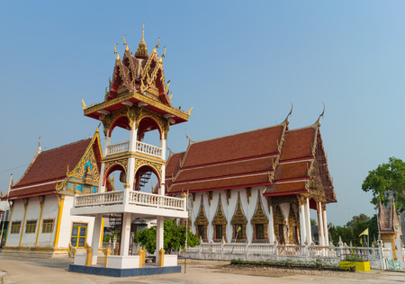 place of worship: place of worship with sky background at Wat Bung Born