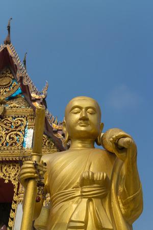 shin: monk statue for Shin Thiwali or Sivali