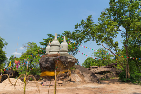 place of worship: place of worship that stupa on stone hill