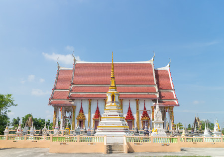 place of worship: Place of worship under sunlight at Wat Bang yhetho