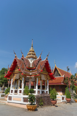 place of worship: Place of worship with sky background at wat changlek