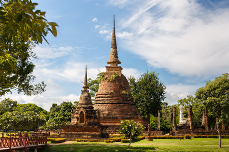 Stupa at Sukhothai Historical Park Thailand