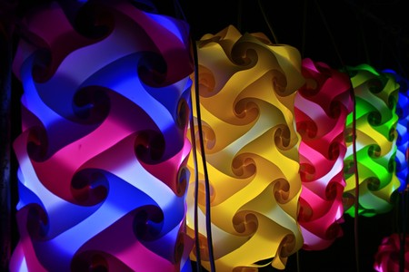 Colorful light photo