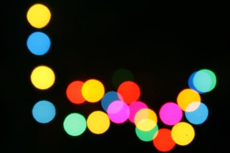 Light blur photo