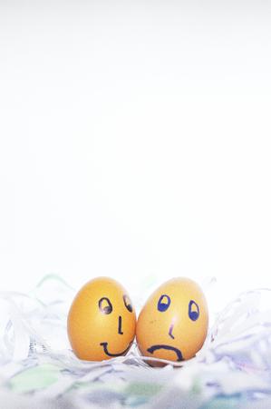 Smiled eggs