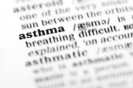 asthma (the dictionary project, macro shots, shallow D.O.F.)