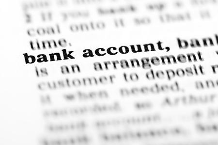 cuenta bancaria: cuenta bancaria (proyecto de diccionario, tomas de macro, D.O.F. superficial)