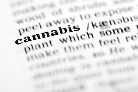 cannabis (the dictionary project, macro shots, shallow D.O.F.)