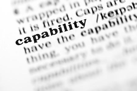 capability  (the dictionary project, macro shots, shallow D.O.F.)