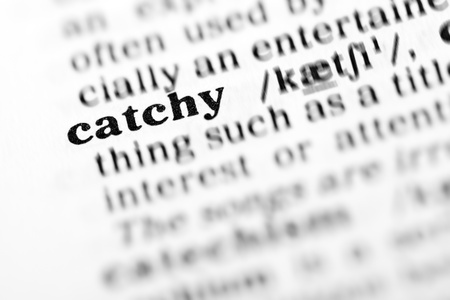 catchy: catchy (the dictionary project, macro shots, shallow D.O.F.)