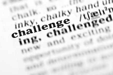 チャレンジ (辞書プロジェクト、マクロ撮影、浅い自由度)