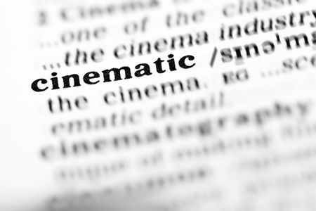cinematic: cinematic (the dictionary project, macro shots, shallow D.O.F.) Stock Photo