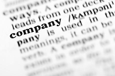 company (the dictionary project, macro shots, shallow D.O.F.) photo