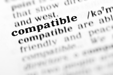 compatible: compatible (the dictionary project, macro shots, shallow D.O.F.)