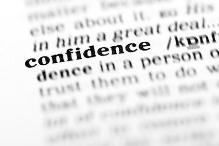 自信 (辞書プロジェクト、マクロ撮影、浅い自由度)