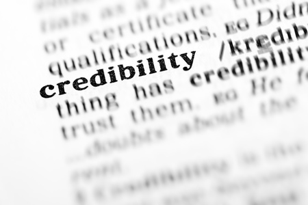credibility (the dictionary project, macro shots, shallow D.O.F.)