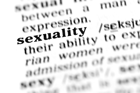 sexuality: sexuality (the dictionary project, macro shots, shallow D.O.F.)
