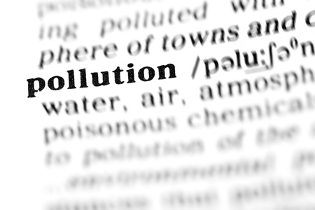 pollution (the dictionary project, macro shots, shallow D.O.F.) photo