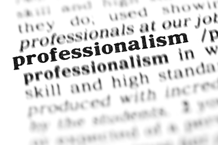 professionalism (the dictionary project, macro shots, shallow D.O.F.) Stock Photo - 9495509