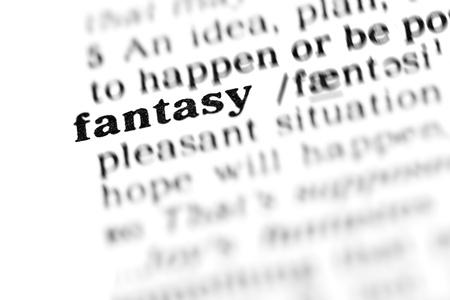 explanations: fantasy (the dictionary project, macro shots, shallow D.O.F.)