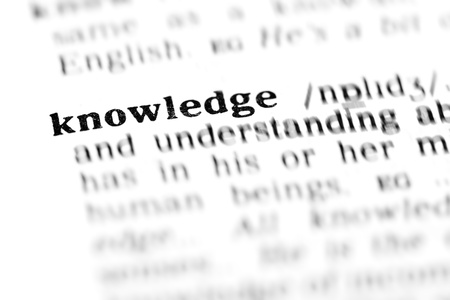words of wisdom: knowledge (the dictionary project, macro shots, shallow D.O.F.)