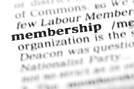 membership (the dictionary project, macro shots)