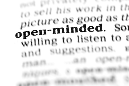 open-minded  (the dictionary project, macro shots) photo