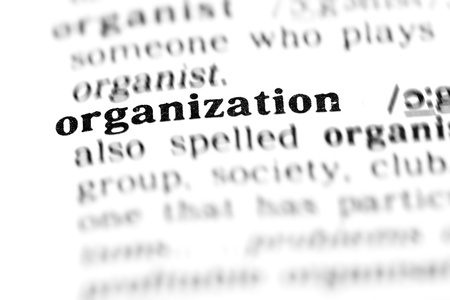 organization (the dictionary project, macro shots, shallow D.O.F.) photo