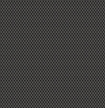 シームレスなファブリックの背景、モダンなデザイン、黒と白
