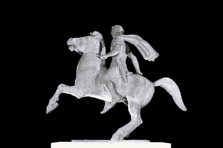 alexandros: Alexander the Great statue, Thessaloniki, Greece