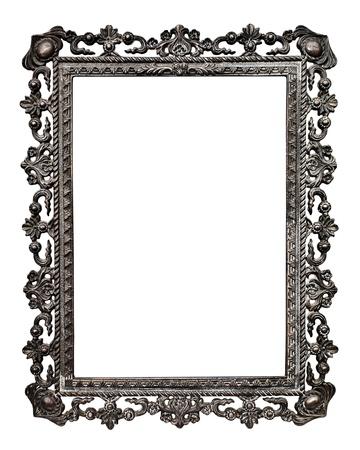 Old metallic picture frame  Standard-Bild