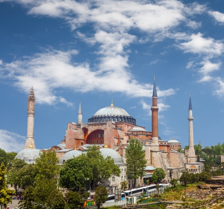 ottoman empire: Hagia Sophia, in Greek means Holy Wisdom, in Latin Sancta Sophia or Sancta Sapientia and in Turkish  Ayasofya, is a former Greek Orthodox patriarchal basilica  church , later an imperial mosque, and now a museum in Istanbul, Turkey